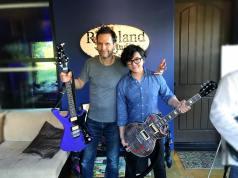 Paul Gilbert hanging with Kael Wu